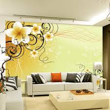 Online Get Cheap Wallpaper Flower Design Aliexpresscom Alibaba - Flower designs for bedroom walls