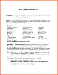 First Resume Objective First Job Resume Program Format