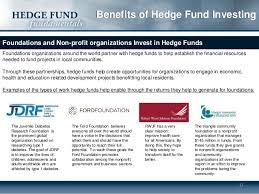benefits hedge fund investing