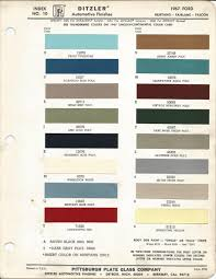 1967 ford mustang lime gold poly code i car paint color kit