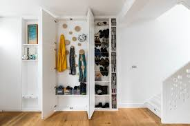 coat closet ideas contemporary with recessed lighting clothes racks