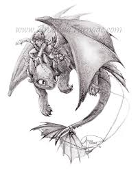 image gallery toothless dragon hiccup drawing