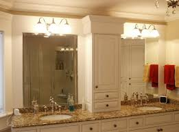 Beveled Mirrors For Bathroom Bathroom Beveled Bathroom Vanity Mirror With Lighting