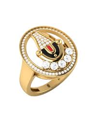 gents ring finger buy men s ring studded with tirupati balaji online india voylla
