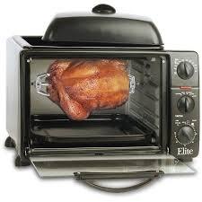 Maxi Matic Elite Cuisine 6 Slice Extra Toaster Oven Broiler