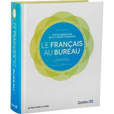 bureau dictionnaire le français au bureau