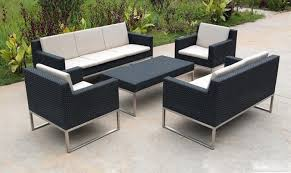Patio Furniture Couch by Patio Sofa Set Center Divinity