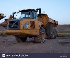 volvo uk volvo a30d articulated dump truck uk stock photo royalty free