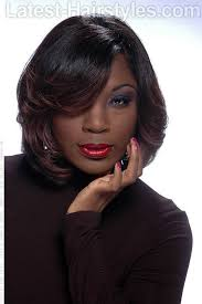 pinup clip in ponytail with bangs 16 side swept hairstyles for black women with class