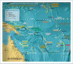 Map Of Oceania Political Map Of Melanesia 1200 Px Nations Online Project