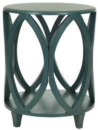 teal accent table amh6607c accent tables furniture by safavieh