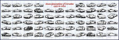 what is the year of the corvette k teeters illustrated corvette series collection of