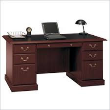 Bush Office Desks Manager S Office Desk Saratoga Executive Collection Bush