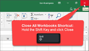 close window 3 tips to save and close all open excel workbook files vba macro