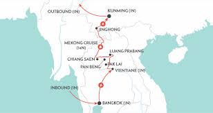 Laos World Map by Laos To China Mekong Cruise Tours Wendy Wu Tours