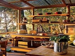 Rustic Kitchen Storage - small kitchen storage ideas rustic outdoor kitchen ideas rustic