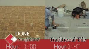 snapstone floating porcelain tile system advantages of