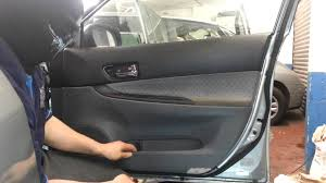 How To Replace Exterior Door by How To Change Replace Front Door Panel Mazda 6 Driver Side Youtube