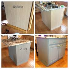 lowes kitchen islands kitchen island diy project bead board paint and trim purchased