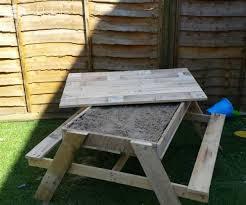 Kids Wooden Picnic Table Kids Sandpit U0026 Picnic Table U2022 1001 Pallets
