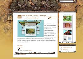 bronzed blogger template xml by mfayaz on deviantart