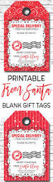 printable christmas gift tags special delivery from santa gift