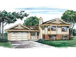split level ranch split level ranch split level house plan graced exterior square