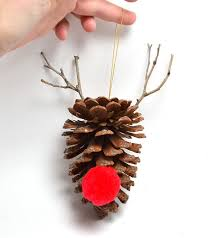 festive pine cone crafts for the season