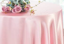 pink round table covers 120 inch pink satin round tablecloths