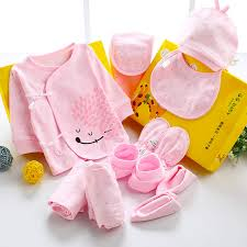 gift sets 10pcs set new born baby gift set girl clothes cotton infant baby