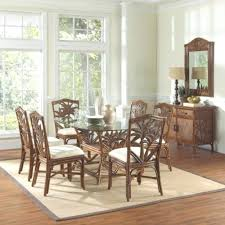 indoor wicker dining table wicker dining room chairs 4sqatl com