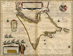Magellan Route Map by A Chart Of Magellan By The Route Of Tierra Del Fuego World