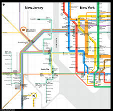 Metro Map Nyc by Ny Nj Subway Map My Blog