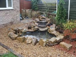 Garden Pond Waterfall Designs Zampco - Backyard pond designs small