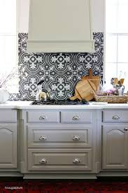 Budget Kitchen Backsplash Kitchen Modern Kitchen With Mosaic Tile Backsplash On One Wall