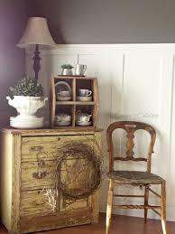 Primitive Corner Cabinet Living Room Turned Dining Room Room Refresh The Curators
