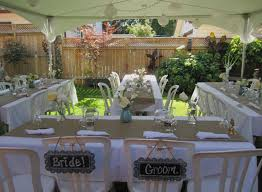 outside wedding decorations simple wedding decorations for reception awesome â â ideas 42