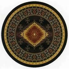 round polypropylene rug bellacor