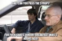 Walt Jr Breakfast Meme - walter white breaking bad meme generator captionator caption