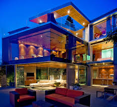 Glass House Of Dr Stefan Lemperle In San Diego California