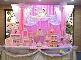 backdrop u0026 cake candy table for a heavenly little angel theme