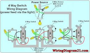 4 way light switch wiring diagram house wiring