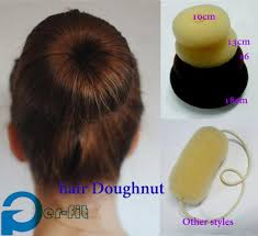 bun scrunchie aliexpress buy big hair bun doughnut tie donut 10cm 8cm