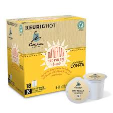 light roast k cups keurig k cup pod caribou coffee daybreak morning blend light roast