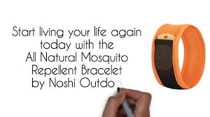 natural mosquito repellent bracelet by noshi outdoor youtube