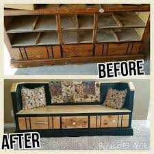 Bench Made From Old Dresser Beautiful Storage Bench Made From An Old Dresser 175 Contact Us
