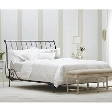 Iron Sleigh Bed Paris Sleigh Bed Open Pariso From Charles P Rogers