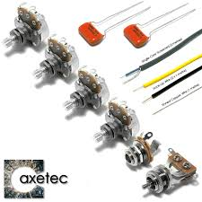 guitar kits by axetec wiring kits for les paul sg 335