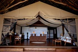 the bedroom tent at fundu lagoon pemba island tanzania mango