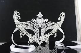 colorful venetian masks plated handmake cz diamond metal halloween